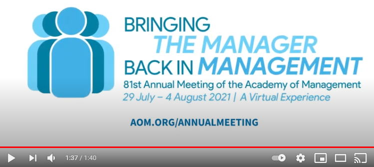 Register for AOM's Annual Meeting